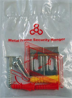 Metal Frame Security Hanger