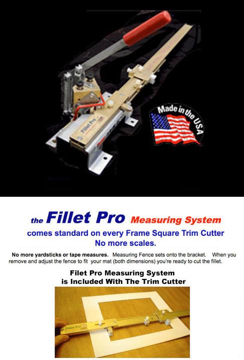 Frame Square Trim Cutter With Fillet Pro Measuring System
